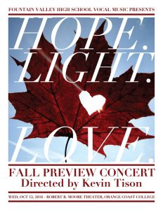 Hope Light and Love This Fall!