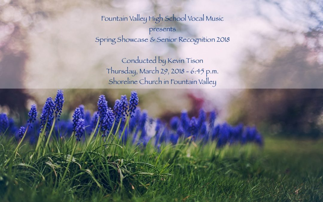 Spring Showcase & Senior Recognition 2018